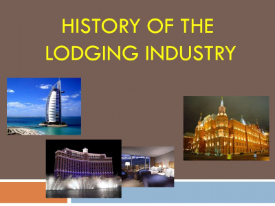 History of the Lodging Industry